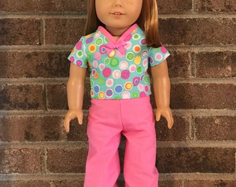 "18"" Doll Scrubs (fits American Girl Dolls)"
