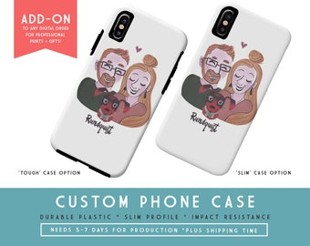 Customize a Phone Case | ADD-ON to any Digital Art Order