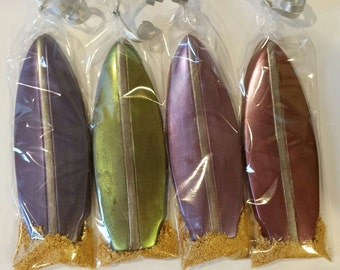 Surf Board Chocolate Party Favors