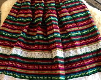 Colorful Handmade MEXICAN DRESS/SKIRT