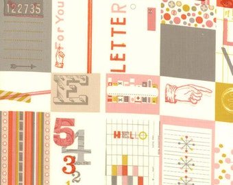 SALE - Moda - 2wenty Thr3e - Love Letters - Parchment