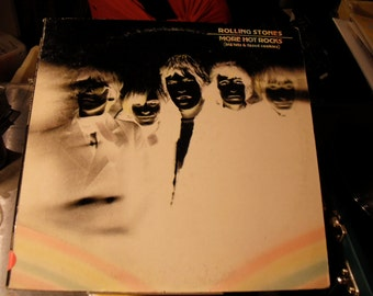 The Rolling Stones More Hot Rocks (Big Hits and Fazed Cookies) on London Records 1972 vintage vinyl
