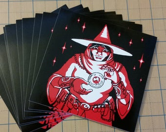 Red Witch sticker