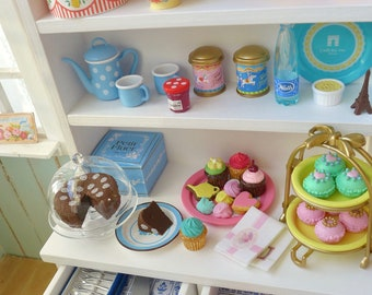 Natalie's Paris Sweets & Kitchen Hutch
