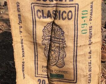 Coffee Bag. Boquete Classico Sack. Bolde de Café.