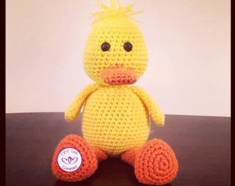 Amigurumi Duck Tutorial : Crochet duck etsy