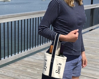 Personalized Wine Tote/Bag