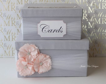 Wedding Card Box Wedding Money Box Gift Card Box Custom Made