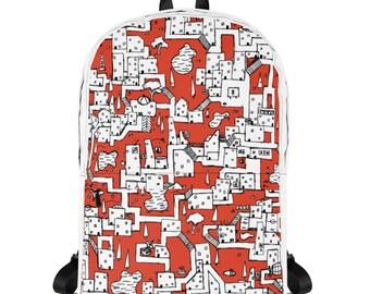 Isometric City #01 - Backpack