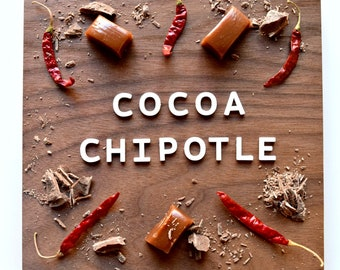 Cocoa Chipotle Soft Caramels (8 ounces)
