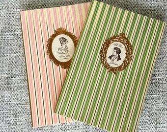 Handmade Jane Austen Journals, Notebooks, Boom Set, Blank Book, Writing Journal