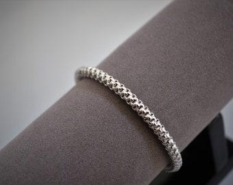 Bangle - Silver 925/000 with links Bracelet