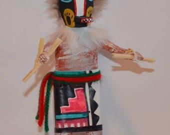 Kachina Doll, Kachina Doll  Badger, Badger 7 Inch Kachina Doll, Badger Kachina Doll on Sale