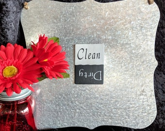 Clean/Dirty 3x4 Dishwasher Magnet