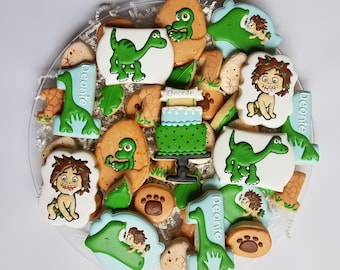 The Good Dinosaur Cookies