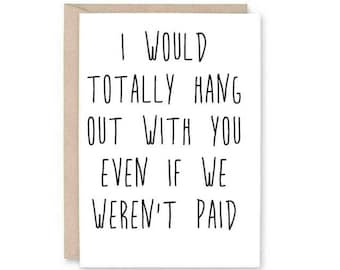 Funny Co-Worker Anniversary Card- Work Anniversary, Work Anniversary, Card for Boss, Card for staff, card for co-worker,