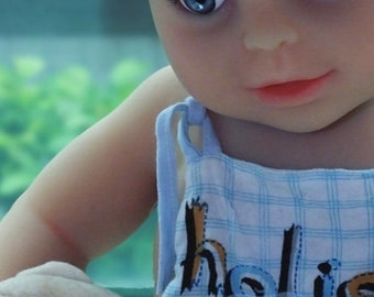 Reborn Baby Doll Boy TPE Premium Silicone