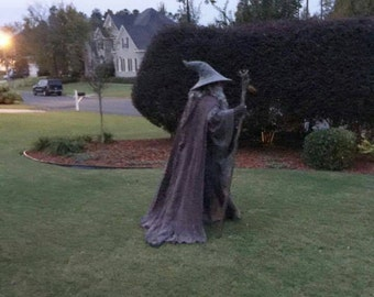 The Hobbiton Cloak, Gandalf the Grey Wizard, LOTR, The Hobbit, Reenactment LARP Cosplay Costume Replica Made to Order