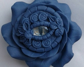 F9 Periwinkle Rose Trinket Holder
