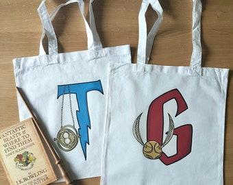 Potter inspired Eco Book Bag/Shopper