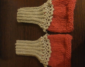 Knitted gloves / Arm warmers