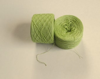 LIGHT PISTACHIO 100% Silk 2020 yards recycled yarn