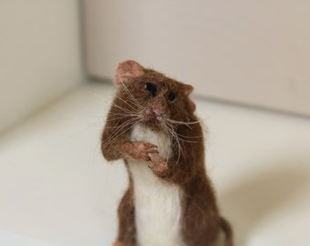 For Sale....Needle felted mouse.....so sad to here the news  !