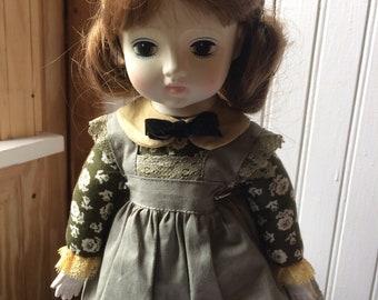 Vintage doll German doll music box doll