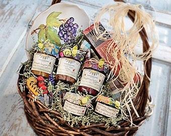 Jam Lovers Gift Basket