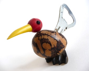 Retro Bird Bottle Opener