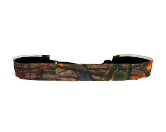 Adjustable Non-Slip Headband - Tree Camo
