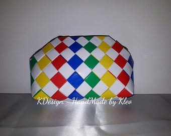 Makeup bag, handmade, makup organizer, cosmetic bag, gift, in stock