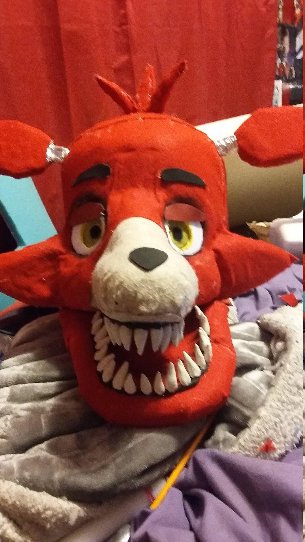 Fnaf Foxy Cosplay Head