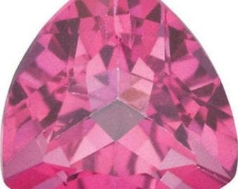 Natural Pink Topaz vvs Trillion AAA TOP QUALITY (5x5mm - 11x11mm) Loose Gemstone