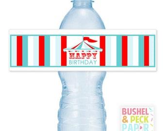 PRINTABLE Carinval Water #Bottle #Labels (Instant Download) #DIY #digital #file