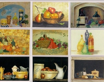 Aceo stillife collection set of 18