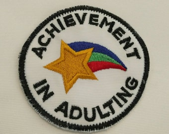Achievement in Adulting Patch