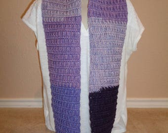Infinity Scarves - Violets and Sunrise