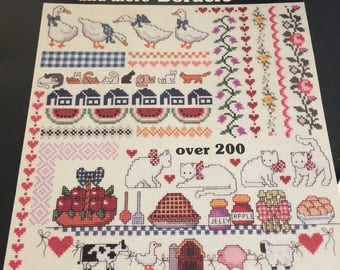 Cross Stitch Borders, Borders, and More Borders by Dale Burdett Book 2Over 200 designs cats, ducks, baby