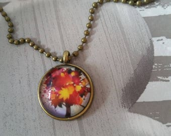 autumn Flower necklace