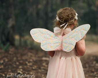 Wife-made Bumblebee Wings Pattern Add-on, Ages 2+, Children, Instant Download, PDF Pattern