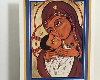 Virgin of Tenderness - ICON - ORIGINAL