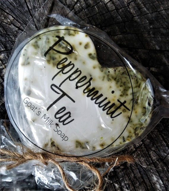 Peppermint Goat's Milk Soap (Set of 3)
