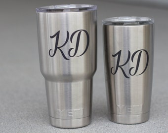 20 oz Yeti Custom Engraving Stainless Steel