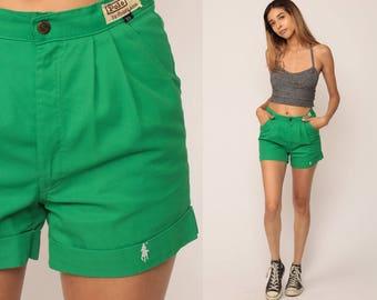 80s shorts fashion