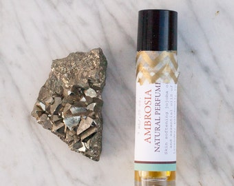 Ambrosia Natural Perfume//Small Batch//Hand Poured