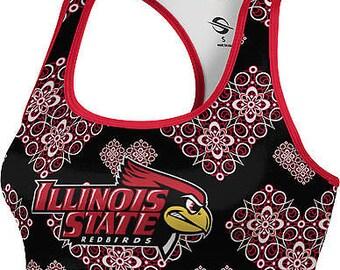 ProSphere Women's Illinois State University Foxy Sports Bra (ISU)