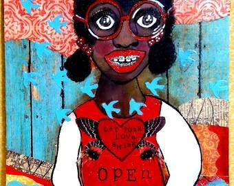Kiwi Open Your Heart - Original