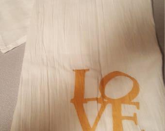 Love Tea Towel