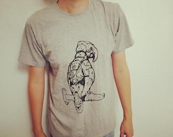 TixiT T-Shirt - Robotic Parrot